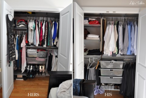 His And Her Closets Are Complete: